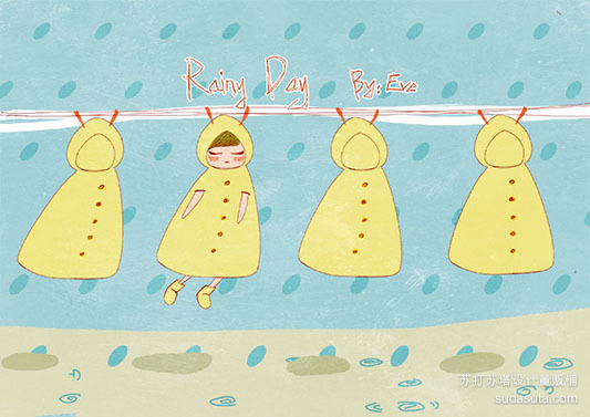Rainy Day    【白日梦】 BY:Eve </p> <p>雨天,雨天,我想我可以多呆一会儿