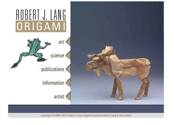 Robert J. Lang<br /> http://www.langorigami.com/