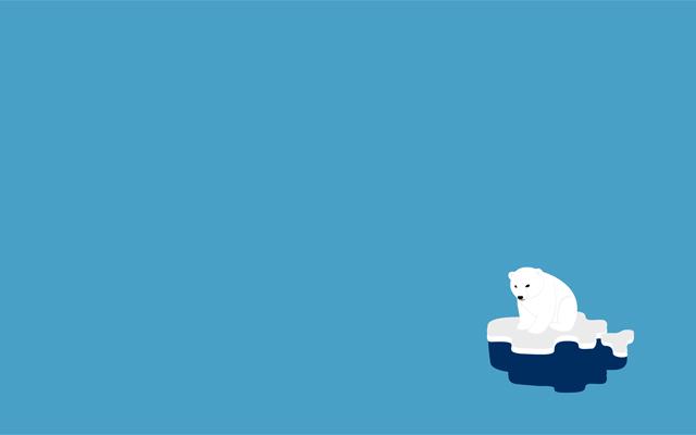 Urso Polar<br /> http://simpledesktops.com/browse/desktops/2011/sep/01/urso-polar/