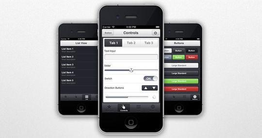 App View Mobile UI PSD<br /> http://freeuikits.com/free-psd-app-view-mobile-ui-psd/