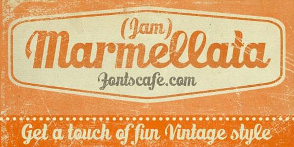 Marmellata (Jam) Font<br /> http://www.fontspace.com/fontscafe/marmellata-jam-demo