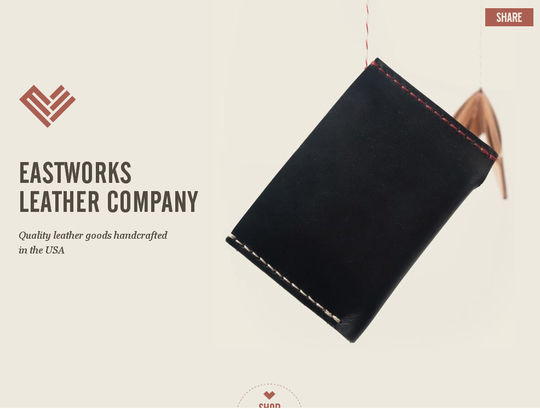 Eastworks Leather<br /> http://www.eastworksleather.com/