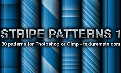条纹模式设置为Photoshop或Gimp(30模式)<br /> http://www.texturemate.com/content/stripes-1-pattern-set-photoshop-or-gimp