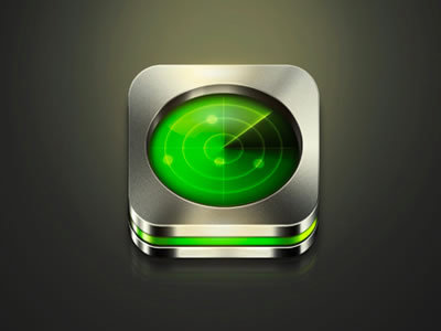 Radar http://dribbble.com/shots/800836-Radar-Icon