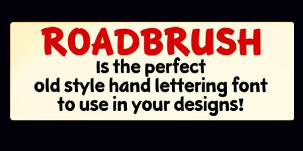 Roadbrush font<br /><br /> http://www.fontspace.com/ktf-kustomtype/ktf-roadbrush
