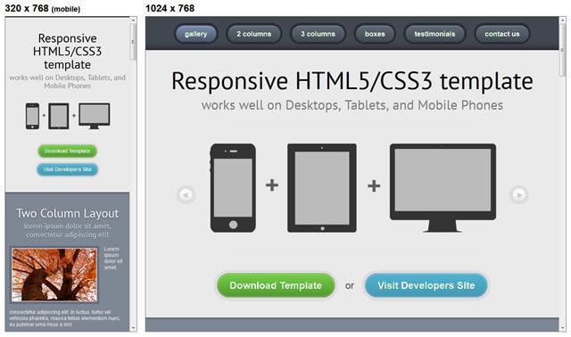 Responsive HTML5/CSS3<br /> http://webcodebuilder.com/examples/responsive-html5css3-template/index.html