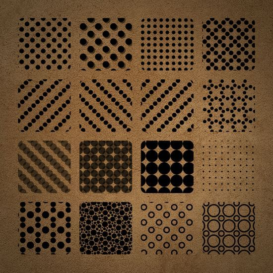 Dotted and Pois Photoshop Patterns<br /> http://www.brusheezy.com/Patterns/14725-Dotted-and-Pois-Photoshop-Patterns