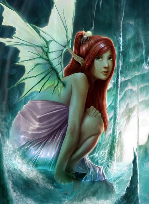欺骗:神仙水<br /> http://rue-different.deviantart.com/art/deception-water-Fairy-63626743