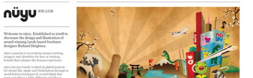 56个使用最低限度的配色方案的简洁干净的网站设计(2)