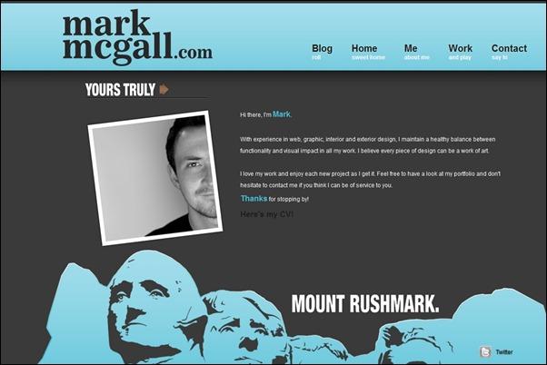 Mark McGall<br /> http://www.markmcgall.com/me.shtml