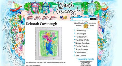 Deborah Cavenaugh<br /> http://deborahcavenaugh.com/