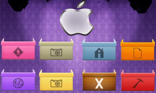 Box Stack Icons<br /> http://mheltin.deviantart.com/art/Box-Stack-Icons-77168787