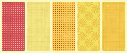 最新100个漂亮的无缝图案