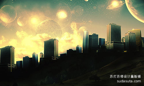 堪称壮观的概念艺术<br /> http://psd.tutsplus.com/tutorials/tutorials-effects/create-spectacular-concept-art-in-photoshop/