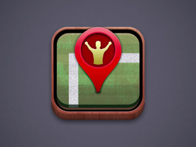 Grass Field http://dribbble.com/shots/815749-App-Icon-Idea