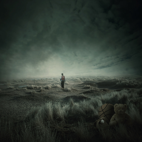 Create a Dark, Atmospheric Photo Manipulation<br /> http://psd.fanextra.com/tutorials/photo-effects/create-a-dark-atmospheric-photo-manipulation/