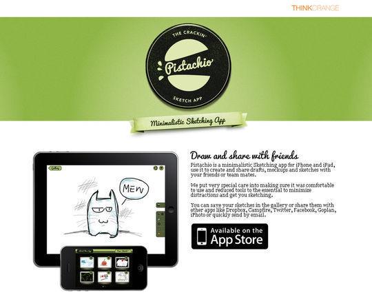 Pistachio Sketching App<br /> http://www.pistachioapp.com/
