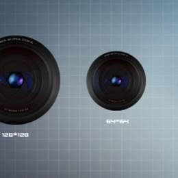 高质量镜头图标免费下载