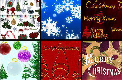 25套圣诞节Photoshop教程和画笔<br /> http://www.photoshoproadmap.com/Photoshop-blog/2007/11/30/25-nice-christmas-photoshop-tutorials-and-brushes/