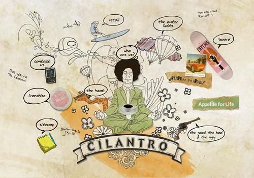 Cilantro Cafe<br /> http://cilantro-cafe.com/