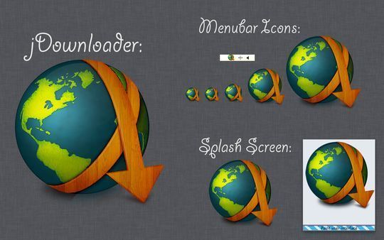 jDownloader Splash Screen and Menubar Wood Icons<br /> http://theroaring20s.deviantart.com/art/jDownloader-Splash-Screen-and-Menubar-Wood-Icons-303250708?q=in%3Acustomization%2Ficons%2Fos%20sort%3Atime%20icons&qo=93