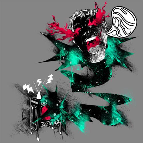 插画家Tobias Fonseca的T-shirt设计