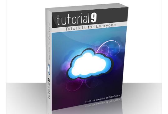 绘制一个3D效果的软件盒子<br /> http://www.tutorial9.net/tutorials/photoshop-tutorials/designing-a-software-box/