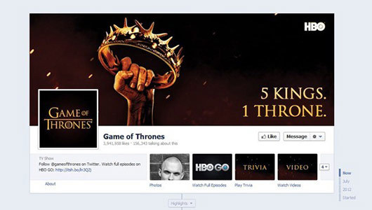Games of Thorns<br /> http://www.facebook.com/GameOfThrones