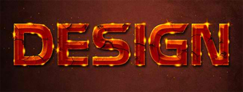 Glowing Rusty Text Effect<br /> http://planetphotoshop.com/glowing-rusty-text-effect.html