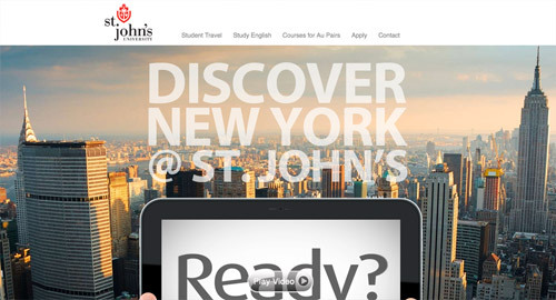 St. John's University<br /> http://nystudyvacations.com/