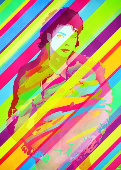 艺术致敬迈克尔杰克逊!