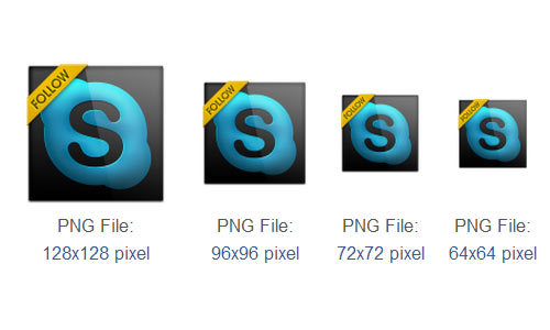 Skype图标<br /> http://www.iconarchive.com/show/black-gloss-social-icons-by-graphics-vibe/skype-icon.html