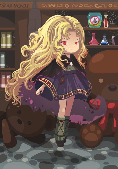 Witch Princess<br /> http://oraclesaturn.deviantart.com/art/Witch-Princess-157148684
