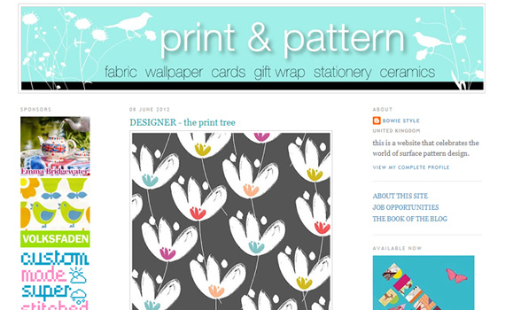 print & pattern<br /> http://printpattern.blogspot.com/