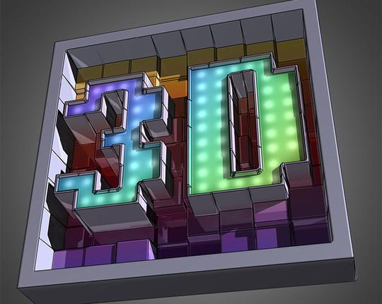 真实的3D建筑绘制<br /> http://www.psawesome.com/tutorials/create-awesome-text-made-of-3d-blocks