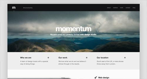 momentum<br /> http://builtwithmomentum.com/