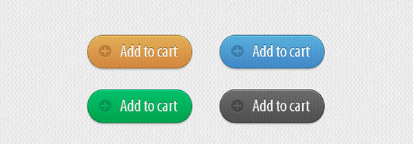"添加到购物车""按钮PSD<br /> http://victorsosea.com/shopping-cart-module-free-psd/#!prettyPhoto/0/"