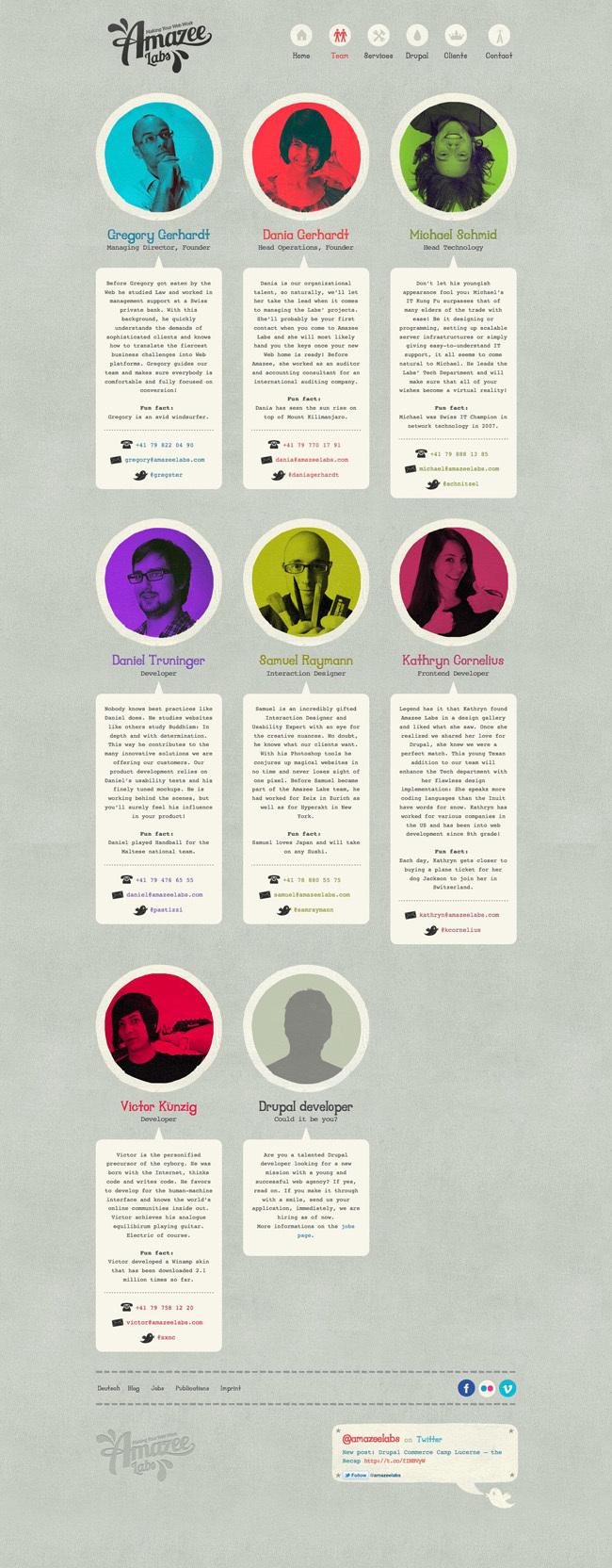 Amazee Labs<br /> http://www.amazeelabs.com/en/team