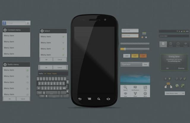 Android 2.3 GUI (PSD)<br /> http://thiago-silva.deviantart.com/art/Android-2-3-GUI-186028267