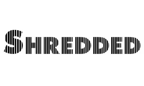 Shredded For You<br /> http://www.fonts2u.com/shredded-for-you.font