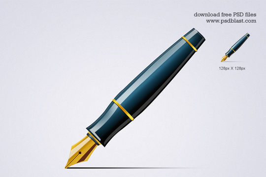 Pen Icon<br /> http://psdblast.com/vector-pen-icon-psd
