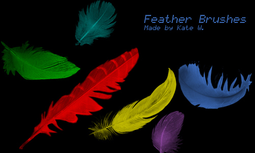 Feather Brushes<br /> http://phoenixity.deviantart.com/art/Feather-Brushes-46619070