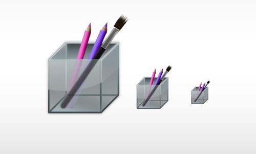 Glass Box Icon<br /> http://otherplanet.deviantart.com/art/Glass-Box-icon-175342116