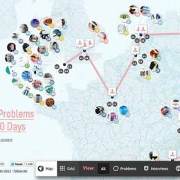创意站点中的互动地图设计