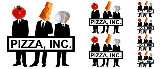 Pizza Inc logo New York