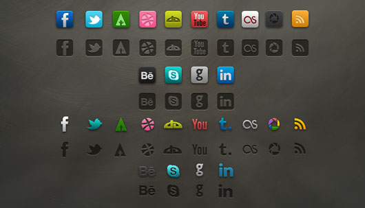 Socialis Media Icon PSD