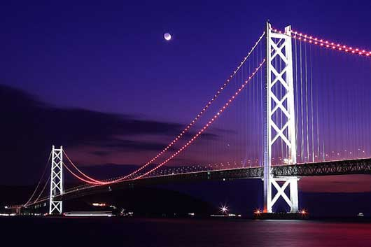 The Pearl Bridge (Akashi Strait Bridge)
