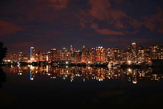 Vancouver at Twilight