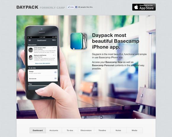 iPhone App创意网站截图