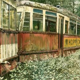Günther Hauschildt 废弃巴士